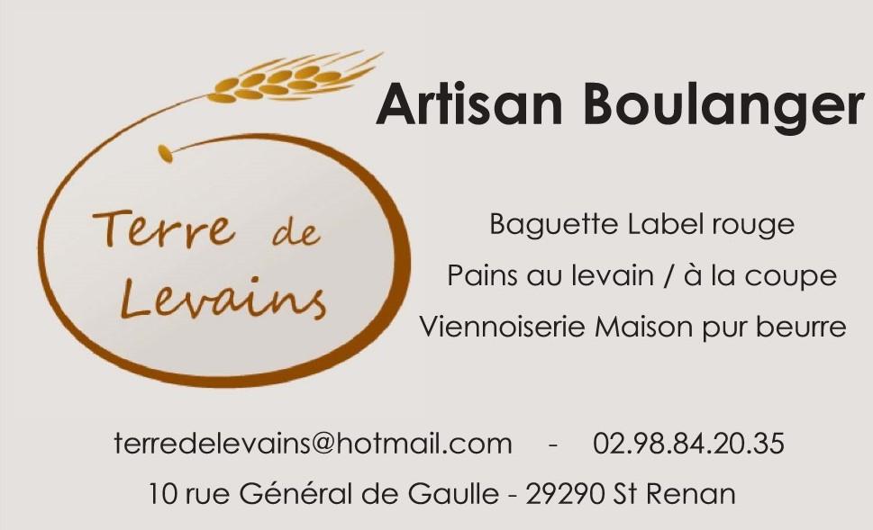 Artisan Boulanger TERRE DE LEVAIN