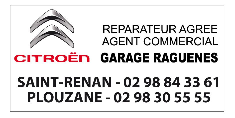 CITROEN GARAGE RAGUÉNES Saint Renan