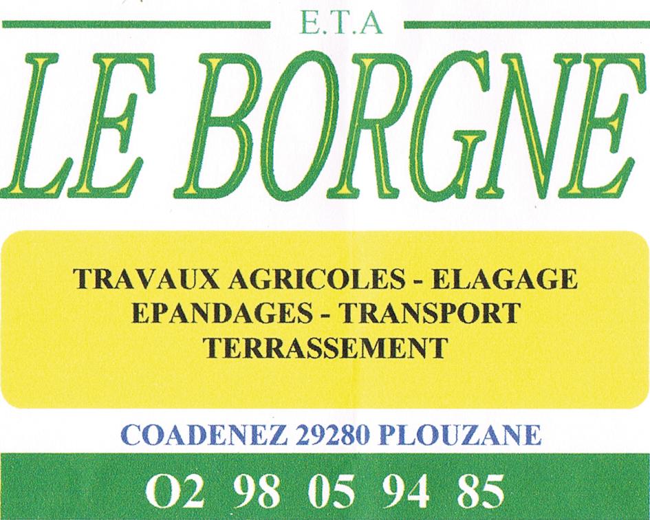 LE BORGNE Plouzané