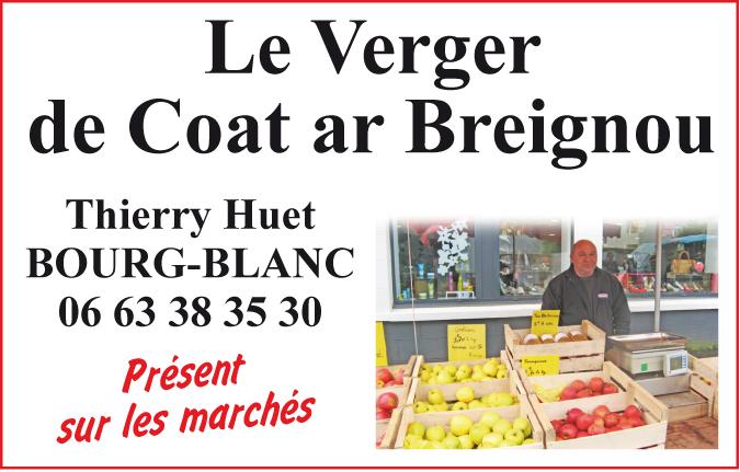 VERGER COAT AR BREIGNOU Bourg Blanc